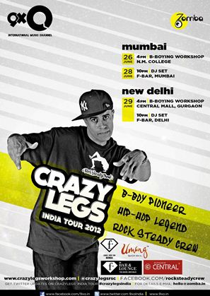 Bboy Crazy Legs Goes to India !