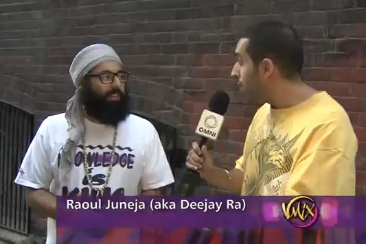 Mandeep Sethi w/ Deejay Ra on OmniTV's V-Mix