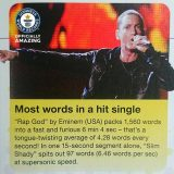 "Eminem Sets World Record in ""Rap God"""