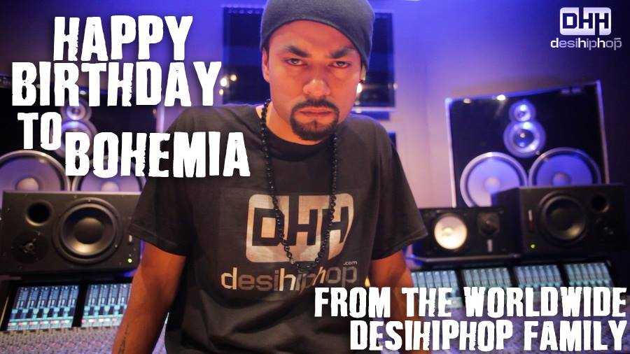 A Tribute to Bohemia on his Birthday