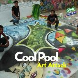 You'll be Amazed at What These Graffiti Artists Did to a Swimming Pool!