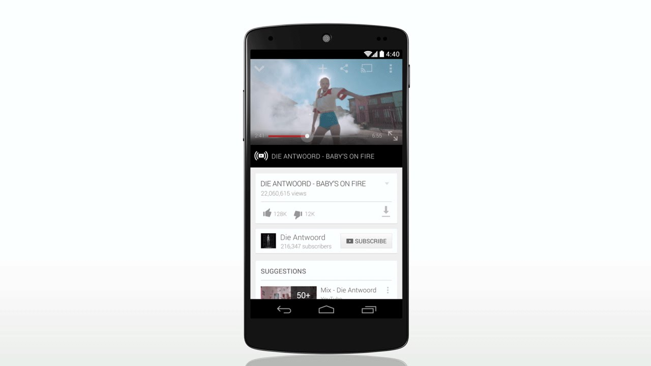 YouTube launches 'Youtube Music Key' To Stream Videos