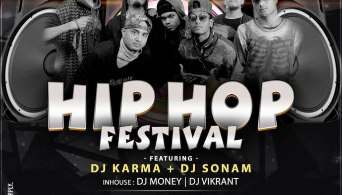 Khatarnaak Hip Hop Collective @ Radisson Blu Hotel With DJ Karma!