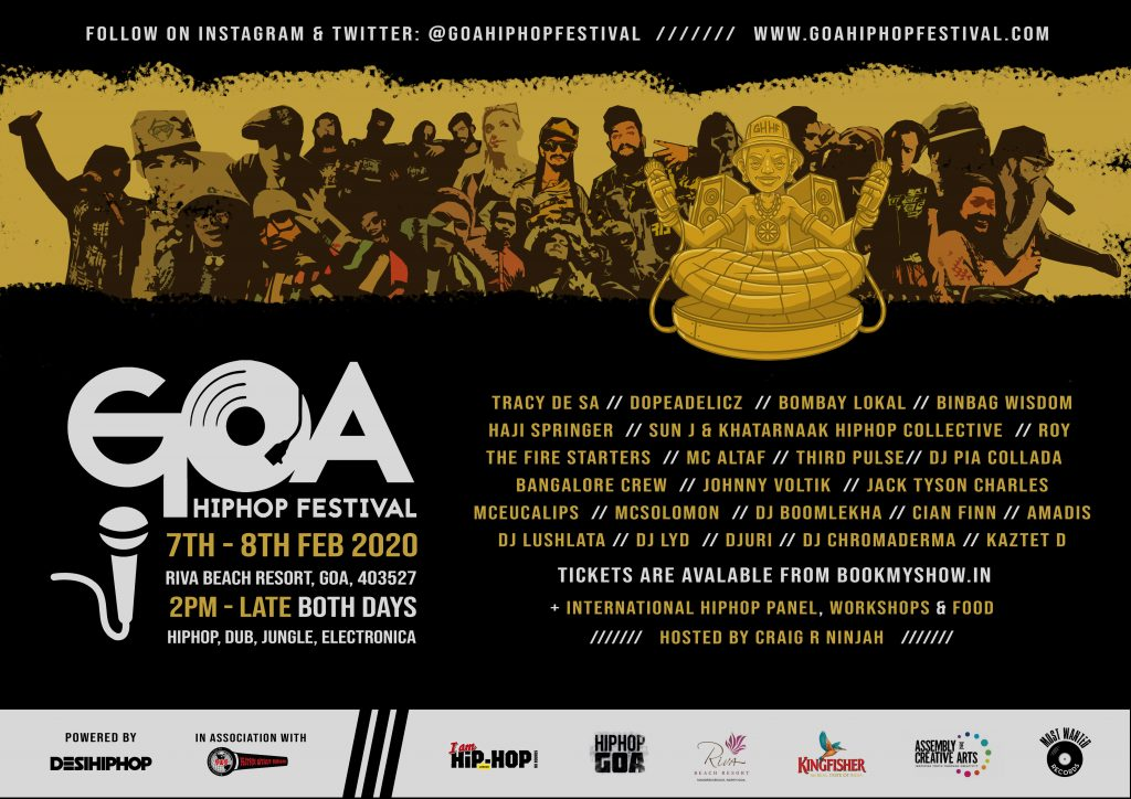 Goa, HipHop, Festival, Music