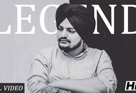 "Sidhu Moose Wala Redefines Punjabi RnB With ""LEGEND""!"